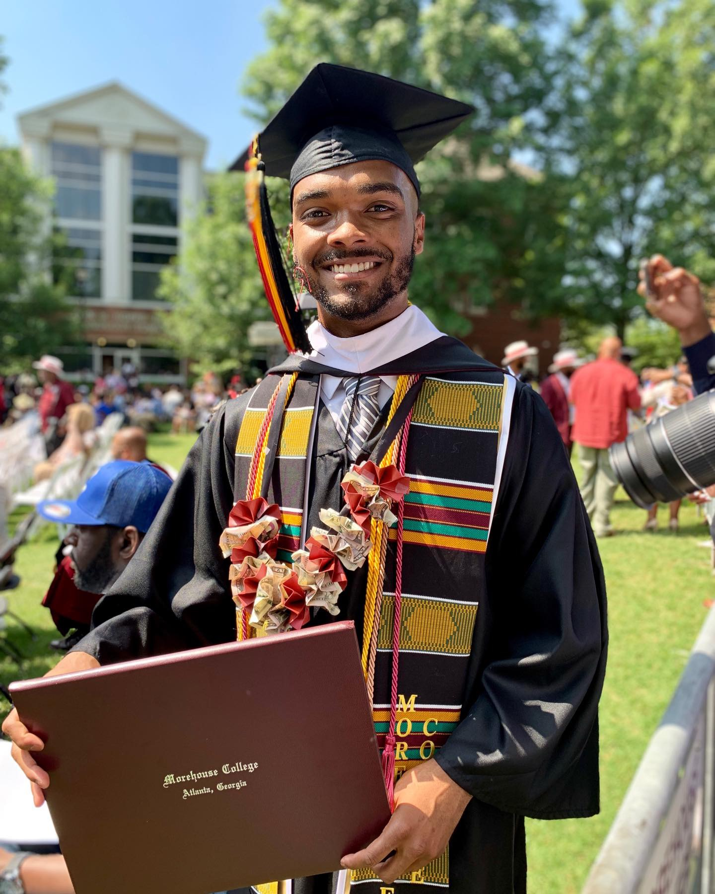 Morehouse Grad Plans to Pay it Forward