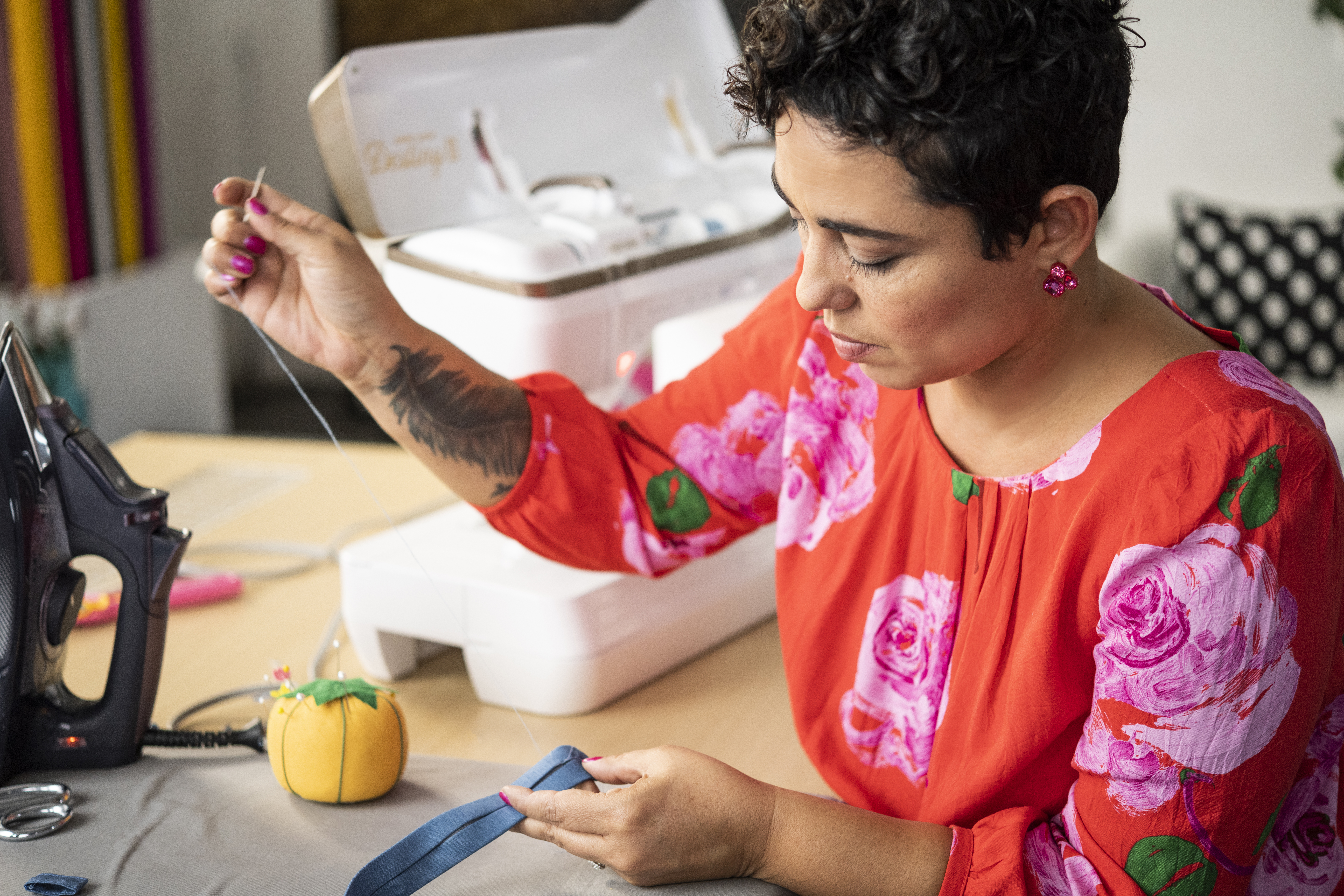 """MiMi G and Norris Dánta Ford Talk New Series """"He Sewed She Sewed"""" and Life as Newlyweds"""